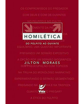 Livro Homilética: do Púlpito ao Ouvinte