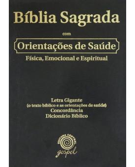 Bíblia com Orientação de Saúde - Corrigida