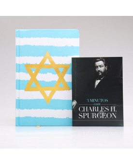 Kit Bíblia NVT Yeshua + Devocional 3 Minutos com Charles H. Spurgeon | Sabedoria Diária