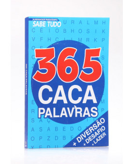 365 Caça Palavras   Passatempos Sabe-Tudo