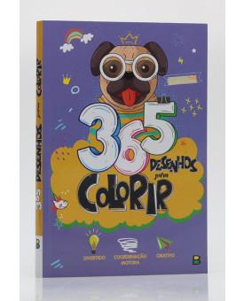 365 Desenhos para Colorir | Roxo | Brasileitura