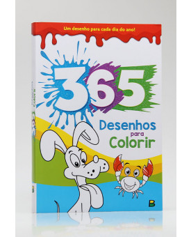 365 Desenhos Para Colorir | Azul | Brasileitura