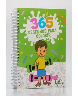 365 Desenhos Para Colorir   Verde   Espiral   Brasileitura