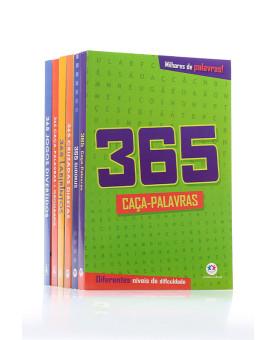 Coleção 6 Livros | 365 Passatempos