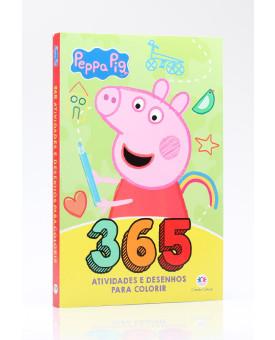 Peppa Pig   365 Atividades e Desenhos Para Colorir   Ciranda Cultural