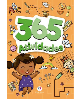 Livro | 365 Atividades | Laranja | Ciranda Cultural