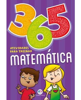 Livro | 365 Atividades | Para Treinar Matemática | Ciranda Cultural