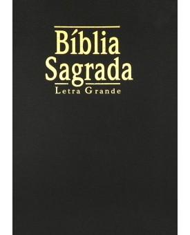 Bíblia Sagrada NTLH | Letra Grande Luxo | Preta