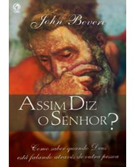 Livro Assim Diz O Senhor? – John Bevere