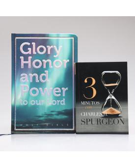 Kit Vida Melhor | Bíblia Glory Honor And Power + 3 Minutos Com Charles H. Spurgeon