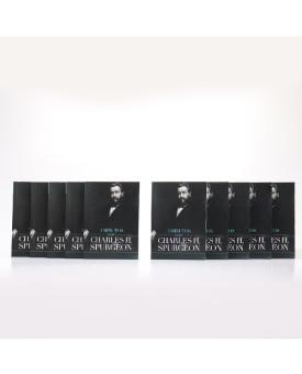 Kit 10 Livros | Devocional 3 Minutos com Charles H. Spurgeon | Azul