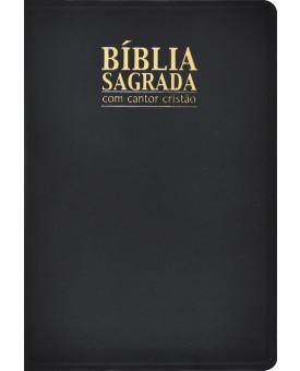 Bíblia Sagrada Com Cantor Cristão | RC | Preta