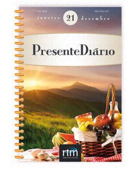 Livro Devocional Presente Diário Volume 21 | 2018 | Letra Grande | Espiral | Brochura