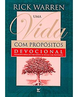 Livro Devocional Uma Vida Com Propósito | Ed. De Bolso | Rick Warren
