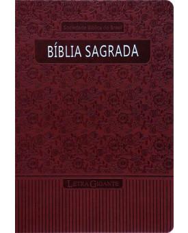 Bíblia Sagrada | RA | Emborrachada | Vermelha  | Luxo com Índice
