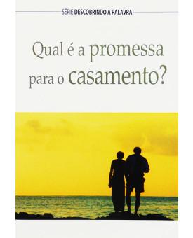 Livro Qual É A Promessa Para O Casamento?
