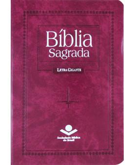 Bíblia Sagrada   RC   Letra Gigante   Capa Sintética   Índice   Violeta Nobre
