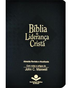 Bíblia Da Liderança Cristã | ARA |  John C. Maxwell | Preta