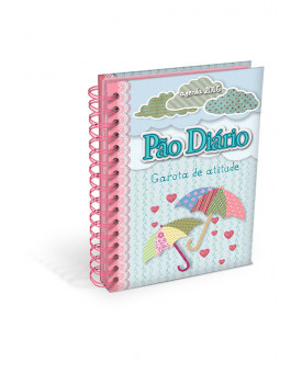 Agenda Pão Diário Garota De Atitude | Pequena | Espiral | 2016