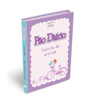 Agenda Pão Diário Garota De Atitude | Capa Acetinada Flexível | 2016