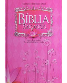 Bíblia Sagrada | NTLH | Capa Dura | Floral