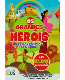Livro Os Grandes Heróis | Histórias Bíblicas Para Bebês
