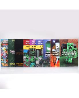 Kit 9 Livros | Aventurando-se com Minecraft