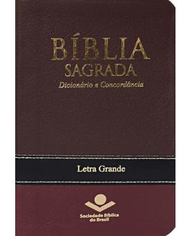 Bíblia Sagrada | Dicionário e Concordância | Média | Letra Grande