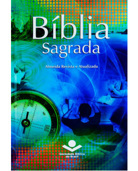 Bíblia Sagrada | RA | Missionária | Média | Capa Dura Ilustrada | Jovem