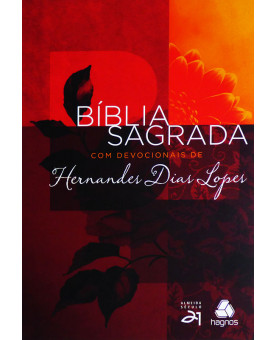 Bíblia Sagrada com Devocionais de Hernandes Dias Lopes | S21 | Letra Normal | Brochura | Colorida