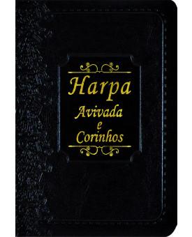 Harpa Avivada e Corinhos | Brochura | Luxo | Preta