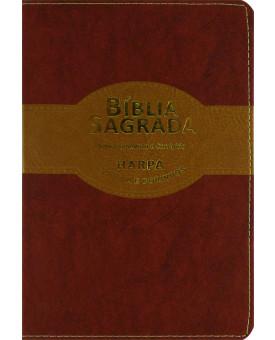 Bíblia Sagrada | Harpa Avivada e Corinhos | Palavras de Jesus em Vermelho | Slim