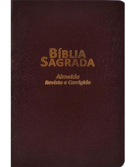 Biblia Sagrada | RC | Palavras em Vermelho | Slim | Covertex | Marrom