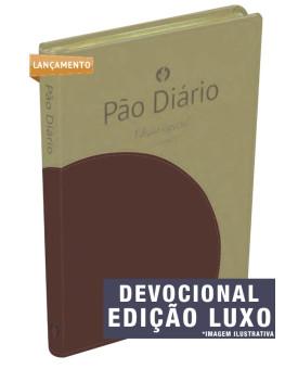 Devocional Pão Diário Vol 20 | Edição Especial | Luxo | 2017