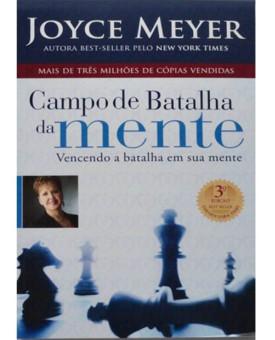 Livro Campo de Batalha Da Mente Edição Comemorativa | Joyce Meyer