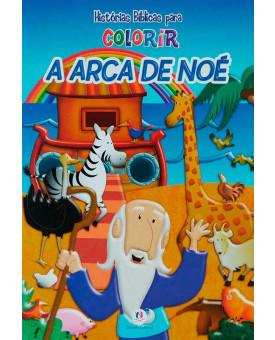 Livro A Arca de Noé | Histórias Bíblicas Para Colorir