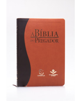 A Bíblia do Pregador   RC   Letra Normal   Capa Sintética   Marrom