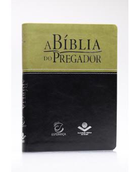 A Bíblia do Pregador   RC   Capa Sintética   Letra Normal   Verde/Preta