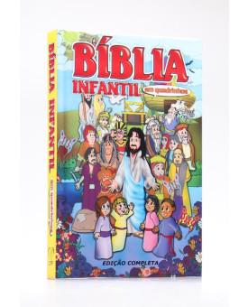Bíblia Infantil em Quadrinhos   Capa Dura   Edição Completa