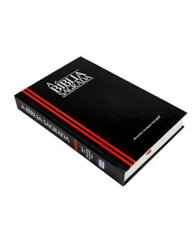 A Bíblia Sagrada | ACF | Classic | Letra Grande | Capa Dura | Preta