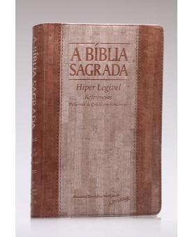 A Bíblia Sagrada | ACF | Hiper Legível | Luxo | Cortiça Madeira