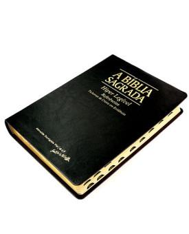 A Bíblia Sagrada | ACF | Hiper Legível | Luxo | Preta | Índice