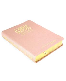 A Bíblia Sagrada | ACF | Hiper Legível | Luxo | Ouro Rosa