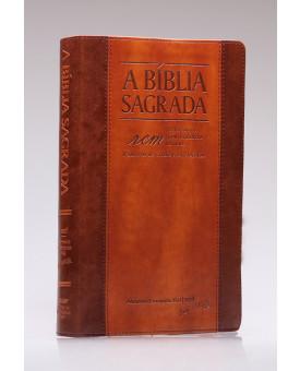 A Bíblia Sagrada | ACF | Letra Gigante | Luxo | Chocolate/Havana | índice