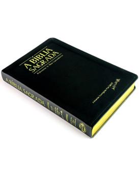 A Bíblia Sagrada | ACF | Letra Grande | Luxo | Preta | índice