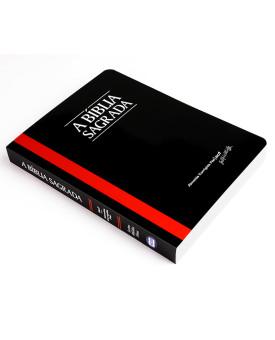 A Bíblia Sagrada | ACF | Letra Média | Fina | Pequena | Brochura | Preta