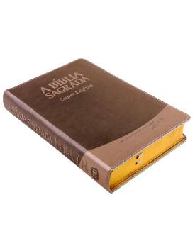 A Bíblia Sagrada | ACF | Super Legível | Luxo | Creme