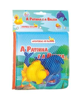 Aventuras no Banho   A Patinha e A Baleia   Todolivro