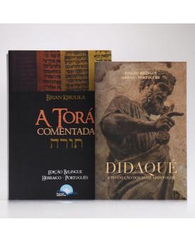 Kit 2 Livros | A Torá Comentada + Didaqué