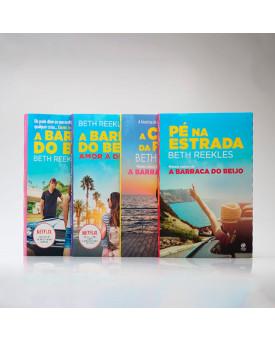 Kit 4 Livros | A Barraca do Beijo | Beth Reekles